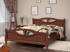 Кровать Елена-4 (массив сосны)