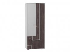 Шкаф 2-х дв.  для белья и одежды с зеркалом (Омега-16)