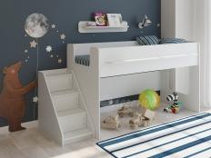 Детская кровать Легенда 23.2 белая