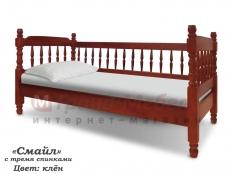 Кровать Смайл с тремя спинками