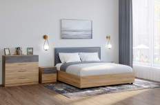 Кровать с подъемным механизмом Лофт