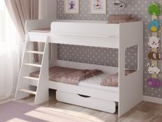 Кровать Легенда 25.2 белая