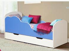 """Кровать """"Облака №2"""" (Разные цвета)"""