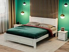 Кровать из массива Виктория