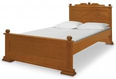 """Кровать """"Виктория""""  Шале, массив сосны"""