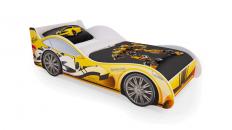 Кровать-машина «Желтая»
